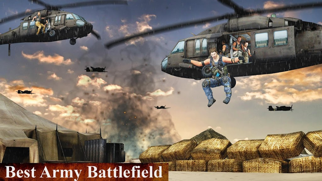 US Army Fighting Games: Kung Fu Karate Battlefield  poster 3