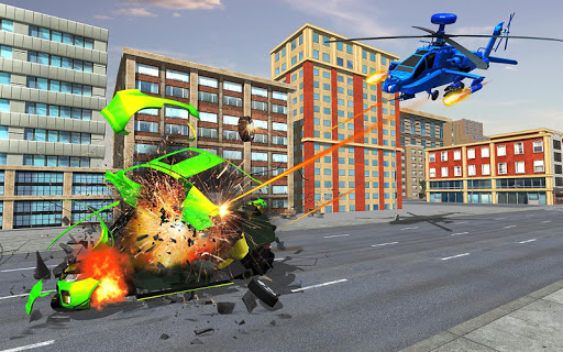 US Police Monster Truck Robot 4.0 Screenshots 11