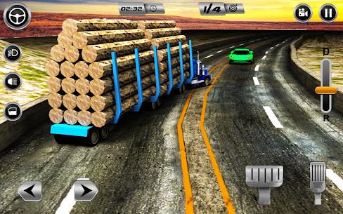 Euro Long Trailer Truck Sim 2019: Cargo Transport 2