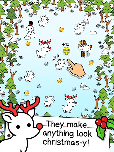 Reindeer Evolution - Mutant Christmas Monsters android2mod screenshots 6