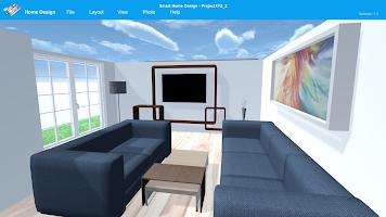 Smart Home Design   3D Floor Plan