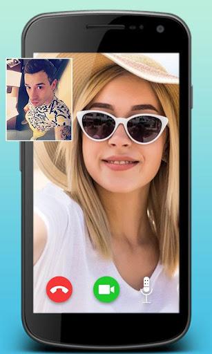 fake video call : prank on girlfriend screenshot 2