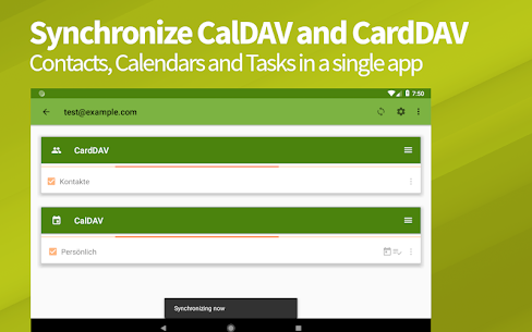 DAVx⁵ Apk– CalDAV & CardDAV Sync client 3.3.11 (Paid) 7