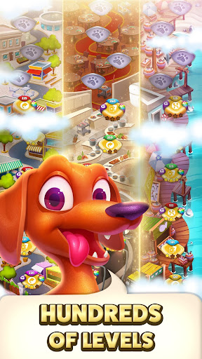 solitaire pets adventure - free solitaire fun game screenshot 2