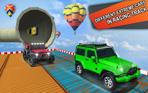 Impossible Jeep Stunt Driving: Impossible Tracks  screenshots 4