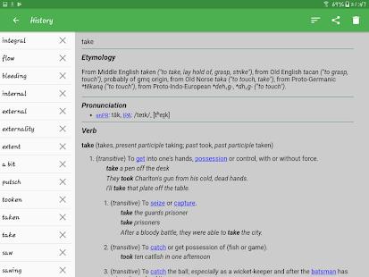 English Dictionary - Offline 6.0-6nhj Screenshots 15