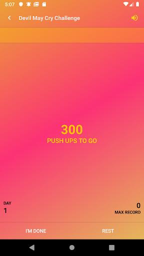home workout - push up 10 years body transform pro screenshot 3