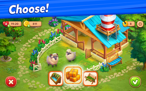 Farmscapes Mod Apk 2.0.1.0 (Money/Horseshoes) 8