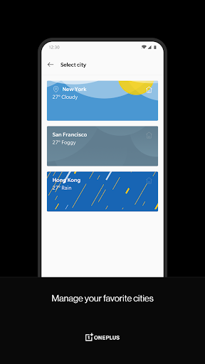 OnePlus Weather screenshots 3