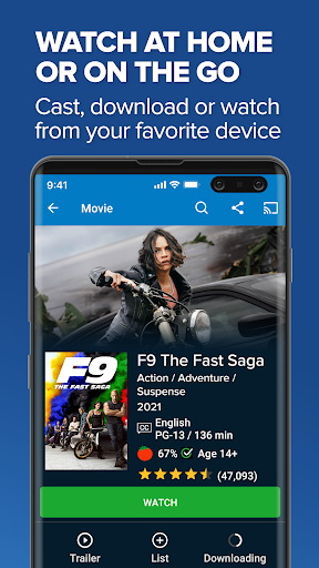 Foto do Vudu - Rent, Buy or Watch Movies with No Fee!