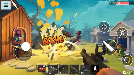4 GUNS: Online Zombie Survival Mod Apk 1.04 (God Mode) 5