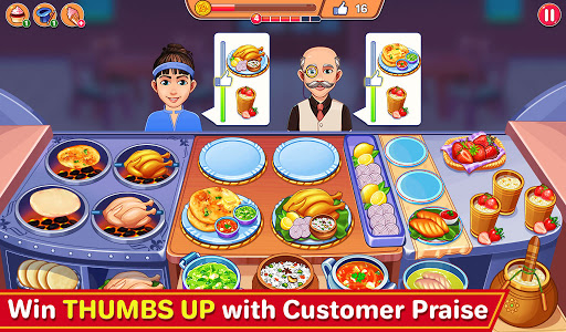 Indian Cooking Madness - Restaurant Cooking Games android2mod screenshots 4