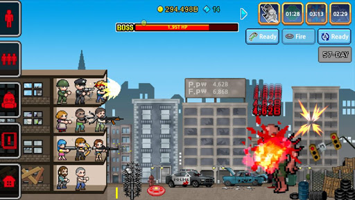 Télécharger Gratuit 100 DAYS - Zombie Survival mod apk screenshots 3