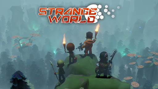 Strange World - Offline Survival RTS Game 1.0.16 screenshots 1