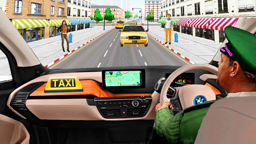 Car Games Taxi Game:Taxi Simulator :2020 New Games screenshots 1