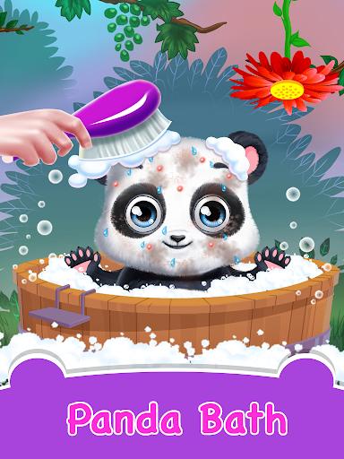 Panda Daycare - Pet Salon & Doctor Game apklade screenshots 1