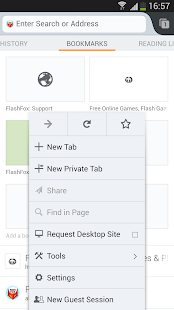 FlashFox - Flash Browser Screenshot