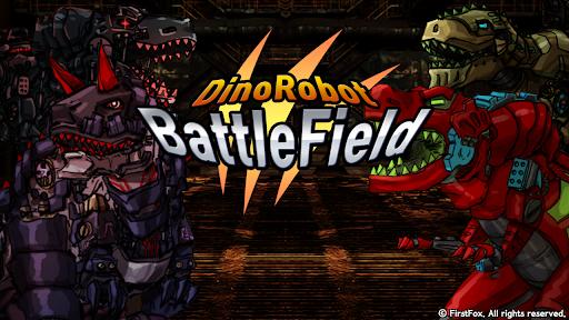 Dino Robot Battle Field - Armoured Dinosaurs War  screenshots 16