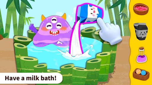 baby panda's monster spa  salon screenshot 2