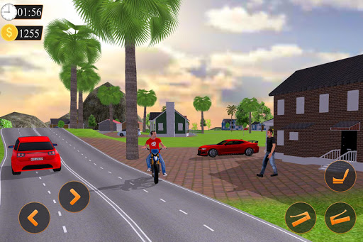 Offroad Bike Taxi Driver: Motorcycle Cab Rider 3.2.1 screenshots 5