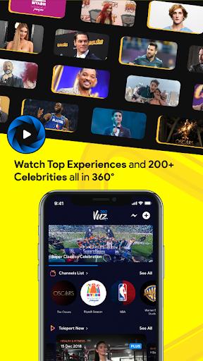 360VUZ: Watch 360° Live Stream & VR Video 3D Views screenshots 1
