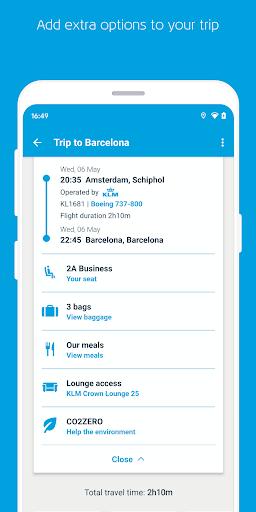 KLM u2013 Book flights and manage your trip screenshots 3