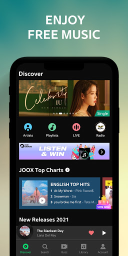 JOOX Music 6.0.2 screenshots 1
