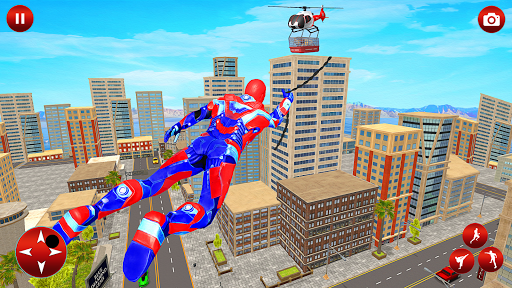 Light Police Speed Hero Robot Rescue Mission  screenshots 12