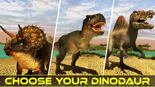 Real Dinosaur Simulator Games u2013 Dino Attack 3D 3.1 screenshots 2