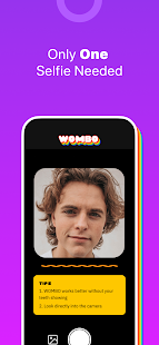 Wombo: Make your selfies sing Screenshot