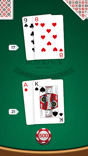 Blackjack 1.0.7 screenshots 1