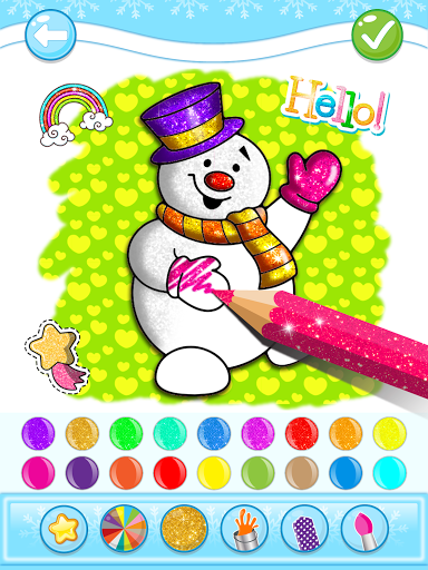 Christmas Coloring Game - Learn Colors  screenshots 9