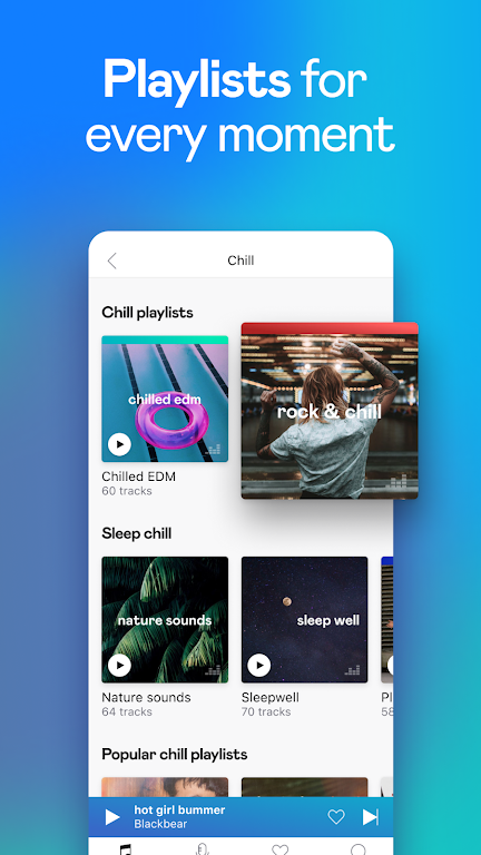 Deezer Music Player: Songs, Playlists & Podcasts  poster 3