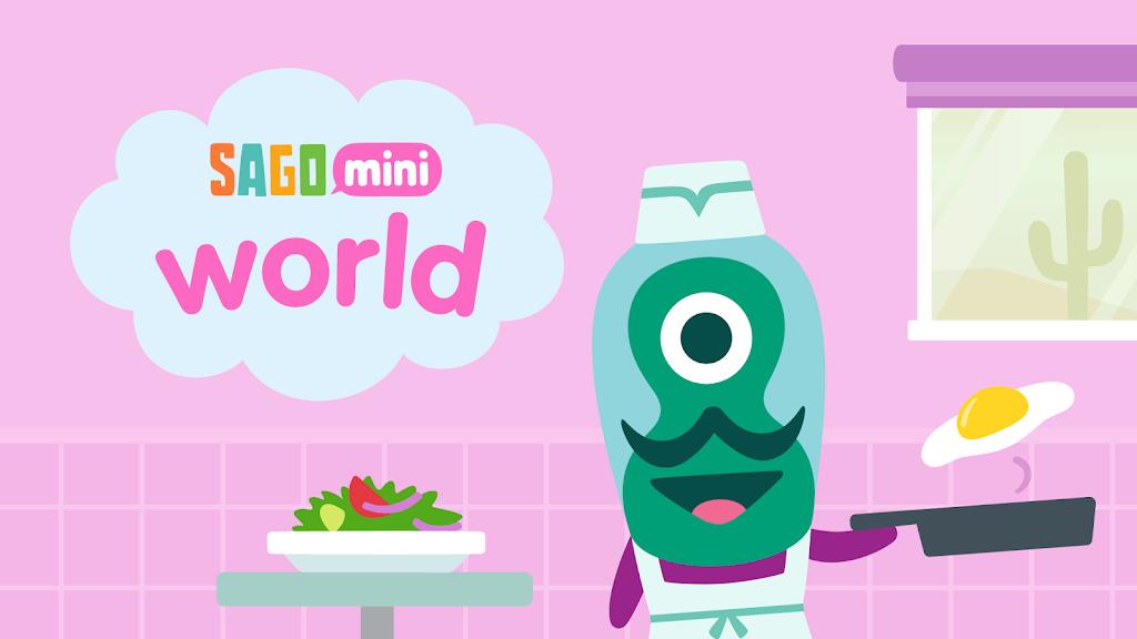 Sago Mini World: Kids Games  poster 14
