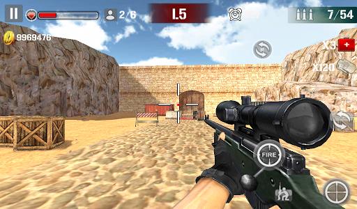 Sniper Shoot Fire War  screenshots 3