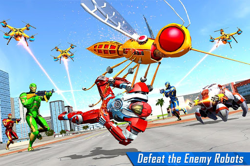 Mosquito Robot Car Game - Transforming Robot Games 1.3 screenshots 2