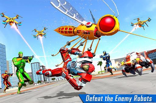 Mosquito Robot Car Game - Transforming Robot Games 1.0.8 screenshots 2