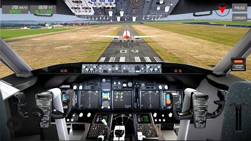 Extreme Airplane simulator 2019 Pilot Flight games 4.3 screenshots 19