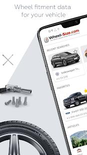 Wheel Size - Wheels database,Tire Size Calculator 2.8.6 Screenshots 1