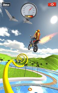 Ramp Bike Jumping