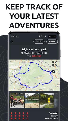 calimoto u2013 Motorcycle Rides & Offline GPS 5.7.1 Screenshots 7