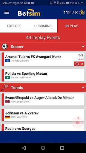 Betsim - You play it, You win it android2mod screenshots 5