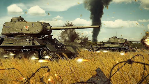 Battle of Tank games: Offline War Machines Games  screenshots 17