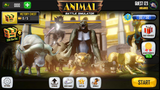 animal battle simulator : animal battle games screenshot 3
