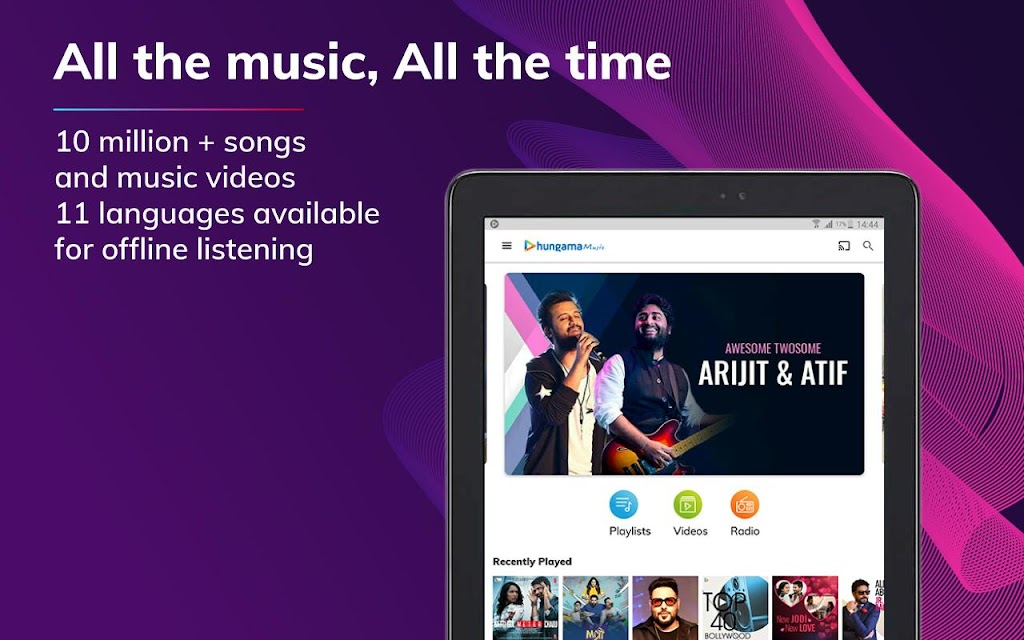 Hungama Music - Stream & Download MP3 Songs  poster 8