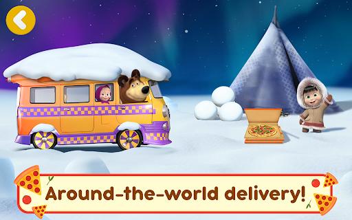Masha and the Bear Pizzeria Game! Pizza Maker Game  screenshots 22