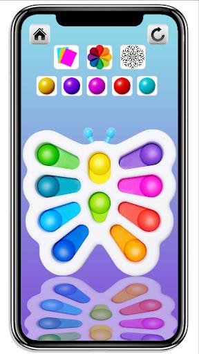 DIY Simple Dimple Pop It Fidget Toys Calming Games  screenshots 4