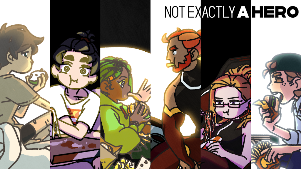 Not Exactly A Hero!: Interactive Action Story Game  poster 0