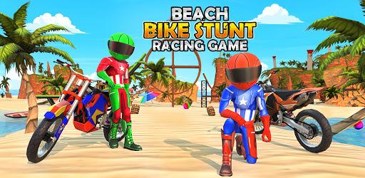 Bike Beach Game: 3D Stunt & Racing Motorcycle Game  screenshots 14