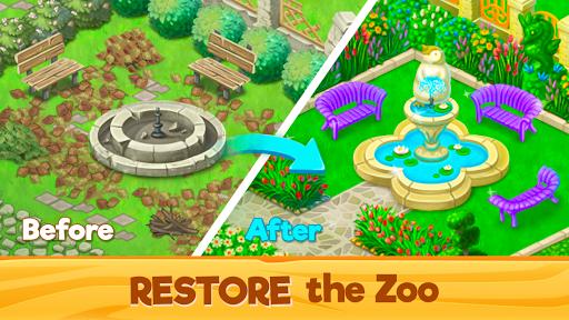 Télécharger Sauvetage du Zoo: Match 3 & Animaux  APK MOD (Astuce) screenshots 1